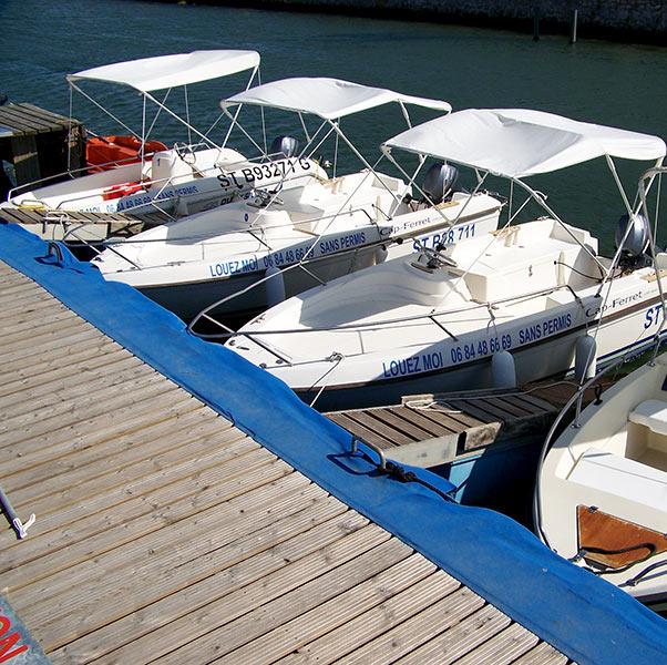 bateau de peche location